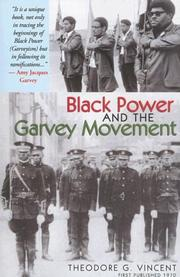 Black power and the Garvey movement by Theodore G. Vincent