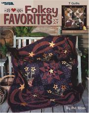 Cover of: Folksy Favorites (Leisure Arts #3391) | Pat Sloan