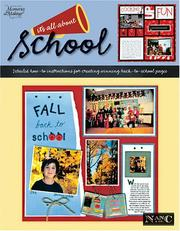 Cover of: Its All About School (Memories in the Making) | Nancy M. Hill