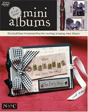 Cover of: Its All About Mini Albums (Memories in the Making Scrapbooking)