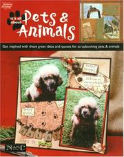 Cover of: Its All About Pets And Animals (Memories in the Making Scrapbooking)