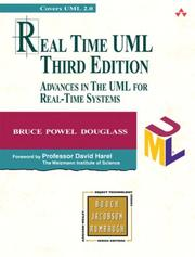 Cover of: Real-time UML