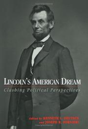 Cover of: Lincoln's American Dream by Kenneth L. Deutsch, Joseph R. Fornieri