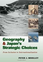 Cover of: Geography and Japan's strategic choices