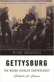 Cover of: Gettysburg | Richard A. Sauers