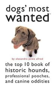 Cover of: Dogs' Most Wanted