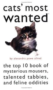 Cover of: Cats' most wanted