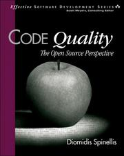 Cover of: Code Quality