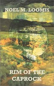Cover of: Rim of the Caprock