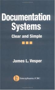 Cover of: Documentation Systems