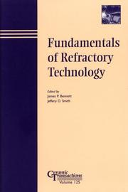 Cover of: Fundamentals of Refractory Technology |