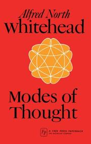Cover of: Modes of thought