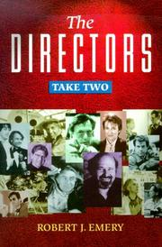 Cover of: The directors | Robert J. Emery