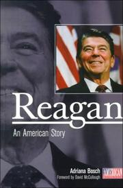 Cover of: Reagan | Adriana Bosch