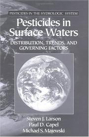 Cover of: Pesticides in surface waters