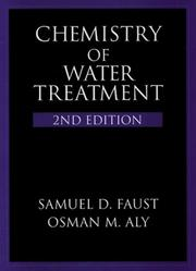 Cover of: Chemistry of water treatment