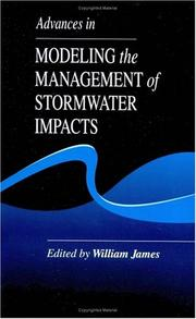 Cover of: Advances in Modeling the Management of Stormwater Impacts |