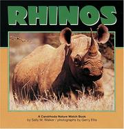 Cover of: Rhinos