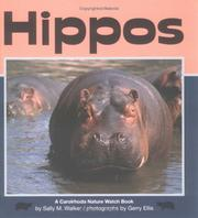 Cover of: Hippos