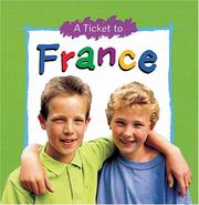 Cover of: A ticket to France