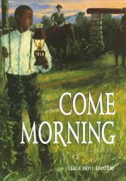 Cover of: Come Morning (Adventures in Time)
