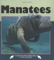 Cover of: Manatees (Nature Watch)