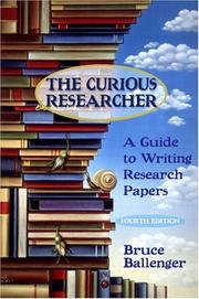 Cover of: The Curious Researcher