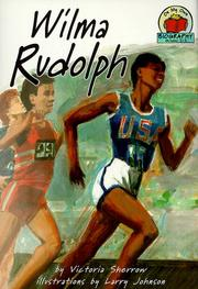 Cover of: Wilma Rudolph (On My Own Biography)
