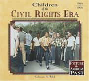Cover of: Children of the civil rights era