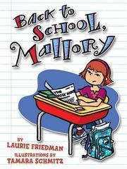 Cover of: Back to school, Mallory