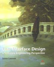 Cover of: User Interface Design
