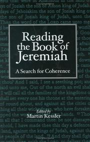 Cover of: Reading The Book Of Jeremiah