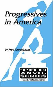 Cover of: Progressives in America