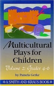 Cover of: Multicultural plays for children