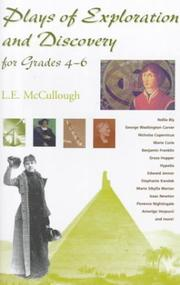 Cover of: Plays of exploration and discovery for grades 4-6