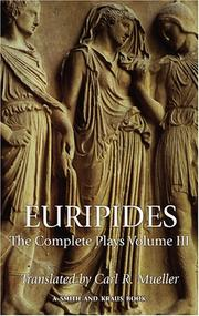 Cover of: Euripides | Carl R. Mueller