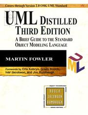 Cover of: UML Distilled | Martin Fowler