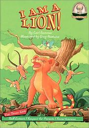 Cover of: I am a lion!