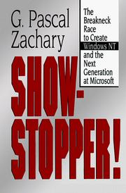 Cover of: Show-stopper!