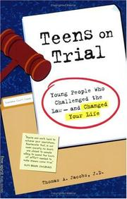 Cover of: Teens on Trial | Thomas A. Jacobs