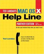 Cover of: Mac OS X Help Line, Panther Edition