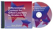Cover of: Differentiating Content for Gifted Learners in Grades 6-12