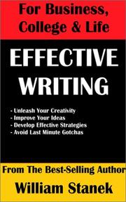 Cover of: Effective Writing for Business, College & Life