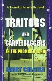 Cover of: Traitors and carpetbaggers in the Promised Land