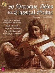 Cover of: 50 Baroque Solos for Classical Guitar | Mark Phillips