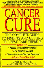 Cover of: Cancer cure