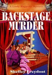 Cover of: Backstage Murder