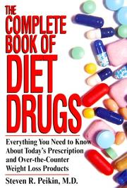 Cover of: The Complete Book Of Diet Drugs