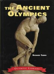 Cover of: Ancient Olympics | Richard Tames