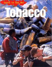 Cover of: Tobacco | Angela Royston